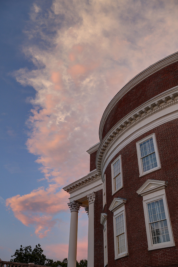 Renovations are nearly complete for the historical Rotunda building on campus at the University of Virginia August 8, 2016 in Charlottesville, Va. Photo/Andrew Shurtleff