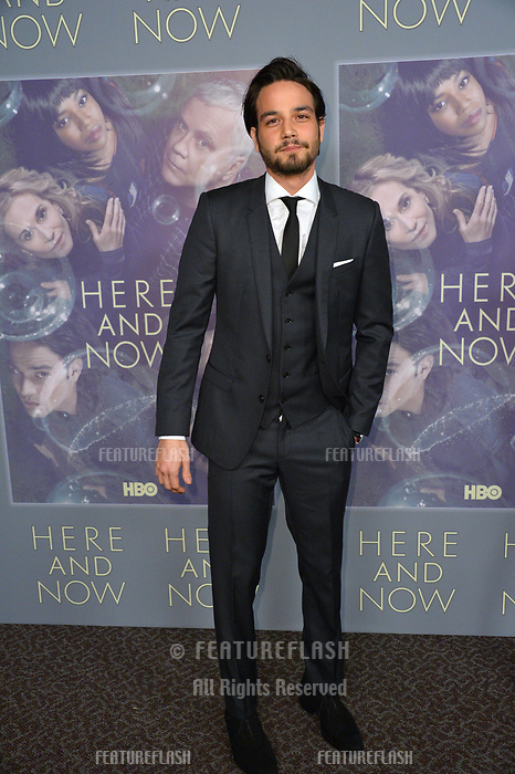 Daniel Zovatto at the premiere for HBO's &quot;Here and Now&quot; at The Directors Guild of America, Los Angeles, USA 05 Feb. 2018<br /> Picture: Paul Smith/Featureflash/SilverHub 0208 004 5359 sales@silverhubmedia.com