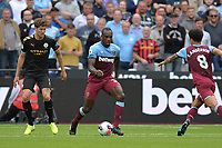 Michail Antonio during West Ham United vs Manchester City, Premier League Football at The London Stadium on 10th August 2019
