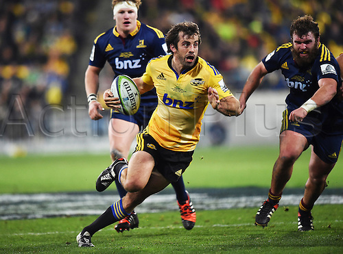 04.07.2015. Wellington, New Zealand.  Conrad Smith during the Super Rugby Final between the Hurricanes and Highlanders at Westpac Stadium in Wellington, New Zealand. Saturday 4 July 2015.