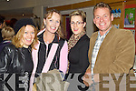 Catherine Young, Kate Kennelly, Margaret Moriarty and Dan O'Driscoll pictured at the Kery film festival at Siamsa Tire on Saturday Night.