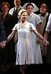 Elena Roge.during the Broadway Opening Night Performance Curtain Call for 'EVITA' at the Marquis Theatre in New York City on 4/5/2012