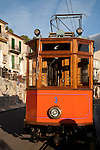 Tram; Soller Port, Majorca -Mallorca; Spain