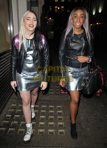 The Glitter Beats ( DJ Tayla &amp; DJ Yuki Love ) attend the Lilah Parsons debut capsule collection for Yumi launch party, 15 Bateman Street, Bateman Street, London, UK, on Tuesday 01 December 2015.<br /> CAP/CAN<br /> &copy;Can Nguyen/Capital Pictures