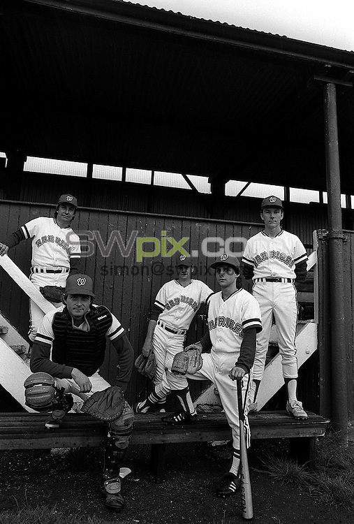 Pix:Michael Steele/SWpix...Baseball, Richmond, London. 1989...COPYRIGHT PICTURE>>SIMON WILKINSON..Baseball, Richmond, London. 1989.
