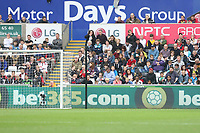 Adverts from Motor Days Group, LG, NPTC College and bet365 during the Premier League match between Swansea City and Huddersfield Town at The Liberty Stadium, Swansea, Wales, UK. Saturday 16 October 2017
