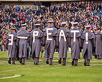 PHILADELPHIA, PA - DEC 8, 2018: Army Cadets before the game between Army and Navy at Lincoln Financial Field in Philadelphia, PA. Army defeated Navy 17-10 to win the Commander in Chief Cup. (Photo by Phil Peters/Media Images International)