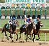 Hope on The Rocks winning at Delaware Park on 10/5/13