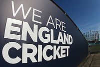 General view of the We Are England Cricket sign ahead of Surrey vs Essex Eagles, Royal London One-Day Cup Cricket at the Kia Oval on 2nd May 2017