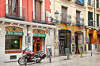 Fatigas del Querer restaurant, Madrid, Spain