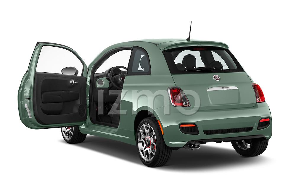 Car images of a 2015 Fiat 500 Sport Door Hatchback Doors