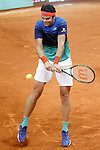 Milos Raonic, Canada, during Madrid Open Tennis 2016 match.May, 5, 2016.(ALTERPHOTOS/Acero)