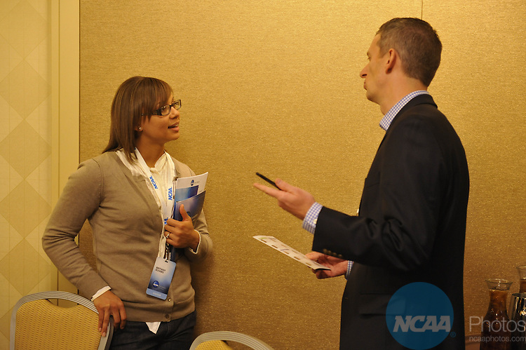 14 JAN 2010: The NCAA Honors Luncheon at the 2010 NCAA Convention held at the Marriott Marquis and the Hyatt Regency in Atlanta, GA. Stephen Nowland/NCAA Photos.Pictured:.