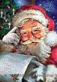 Interlitho, Simonetta, CHRISTMAS SANTA, SNOWMAN, paintings, santa, list, KL5897,#x# Weihnachtsmänner, Papá Noel, Weihnachten, Navidad, illustrations, pinturas klassisch, clásico