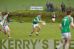 Loads of space Legion's James O'Donoghue slots another over the bar in their clash in South Kerry with St Michaels/Foilmore.