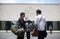 Museo (2018)<br /> Gael Garcia Bernal and Leonardo Ortizgris<br /> *Filmstill - Editorial Use Only*<br /> CAP/MFS<br /> Image supplied by Capital Pictures