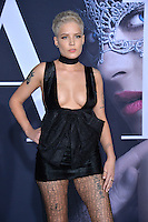 Halsey at the premiere of &quot;Fifty Shades Darker&quot; at the Theatre at the Ace Hotel, Los Angeles, USA 18th January  2017<br /> Picture: Paul Smith/Featureflash/SilverHub 0208 004 5359 sales@silverhubmedia.com