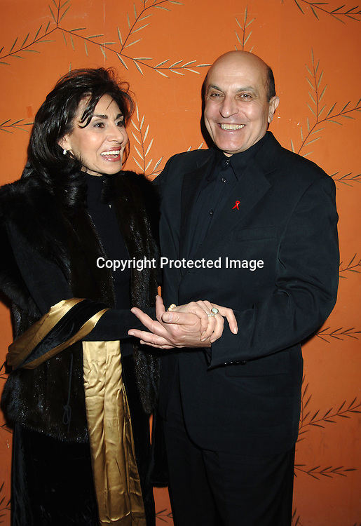 Patricia Mauceri and Thom Christopher ..at the One Life To Live Christmas Party at LQ on     December 12, 2005. ..Photo by Robin Platzer, Twin Images