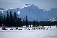 Dee Dee Jonrowe Near Finger Lk Alaska Range/Iditarod AK