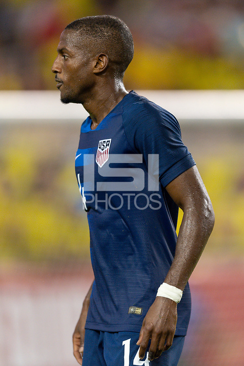 Tampa, FL - Thursday, October 11, 2018: Fabrice-Jean Picault during a USMNT match against Colombia.  Colombia defeated the USMNT 4-2.