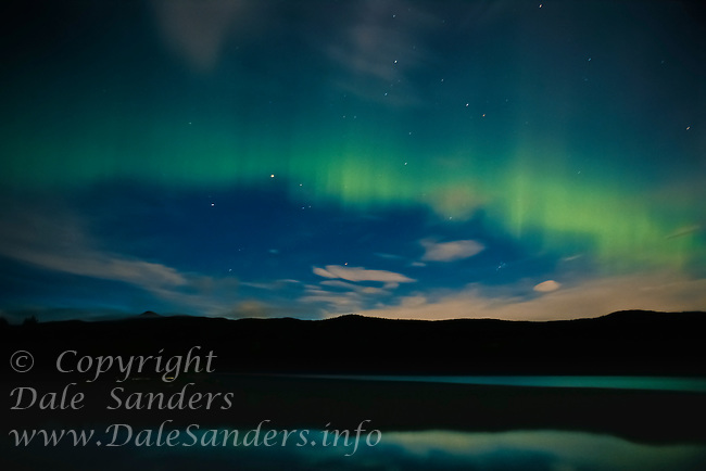 700-010959.© Dale Sanders.Northern Lights / Aurora Borialis.Dease Lake.British Columbia, Canada