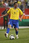 06 June 2008: Elano (BRA). The Venezuela Men's National Team defeated the Brazil Men's National Team 2-0 at Gillette Stadium in Foxboro, Massachusetts in an international friendly soccer match.
