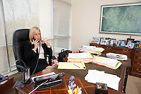 4/26/11 9:30:03 AM -- Warrington, Pa. -- Fox Rothschild Attorney Susan Smith at work in her Warrington, Pa. office April 26, 2011. -- Photo by William Thomas Cain/Cain Images for Fox Rothschild.