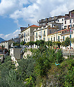 General view of Picinisco, Italy.