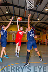 Mary Herlihy Team Den Joes American Style attempts a lay up against NUIG Mystics in Castleisland on Saturday night
