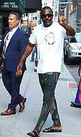 JUL 29 Idris Elba at The Late Show with Stephen Colbert