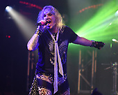 FORT LAUDERDALE, FL - NOVEMBER 03: Michael Starr of Steel Panther performs at The Culture Room on November 3, 2017 in Fort Lauderdale, Florida. : Photo By Larry Marano © 2017