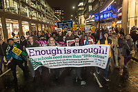 Enough is Enough NEU march & rally 20-11-18