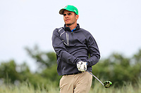 Paul Murphy (Rosslare) on the 17th tee during Round 2 of The East of Ireland Amateur Open Championship in Co. Louth Golf Club, Baltray on Sunday 2nd June 2019.<br /> <br /> Picture:  Thos Caffrey / www.golffile.ie<br /> <br /> All photos usage must carry mandatory copyright credit (© Golffile   Thos Caffrey)