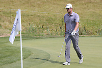 A tricky chip from the 16th green for Bernd Wiesberger (AUT) during Round Three of the 2015 Alstom Open de France, played at Le Golf National, Saint-Quentin-En-Yvelines, Paris, France. /04/07/2015/. Picture: Golffile | David Lloyd<br /> <br /> All photos usage must carry mandatory copyright credit (© Golffile | David Lloyd)