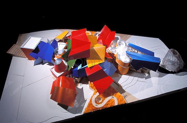 Maquetas del Biomuseo.
