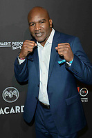 ATLANTA, GA - FEBRUARY 02: Evander Holyfield at the Sports Illustrated presents Saturday Night Lights event powered by Matthew Gavin Enterprises and Talent Resources Sports on February 2, 2019 in Atlanta, Georgia. <br /> CAP/MPIIS<br /> &copy;MPIIS/Capital Pictures