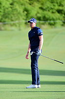 Daniel Berger (USA) watches his approach shot on 10 during round 1 of the Shell Houston Open, Golf Club of Houston, Houston, Texas, USA. 3/30/2017.<br /> Picture: Golffile   Ken Murray<br /> <br /> <br /> All photo usage must carry mandatory copyright credit (&copy; Golffile   Ken Murray)