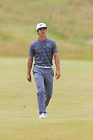 Thorbjorn Olesen (DEN) on the 2nd hole during Saturday's Round 3 of the 2018 Dubai Duty Free Irish Open, held at Ballyliffin Golf Club, Ireland. 7th July 2018.<br /> Picture: Eoin Clarke | Golffile<br /> <br /> <br /> All photos usage must carry mandatory copyright credit (&copy; Golffile | Eoin Clarke)