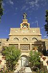 Israel, Shephelah, Deir Rafat Monastery, built in 1927