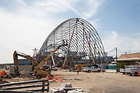 Anaheim Regional Transportation Intermodal Center Under Construction