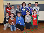 Under 9 players pictured at Ardee Celtic underage awards night in Ardee Parish Centre. Photo:Colin Bell/pressphotos.ie