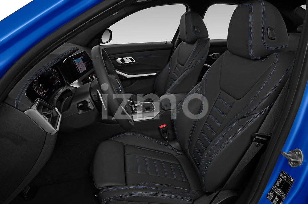 Front seat view of 2019 BMW 3-Series M-Sport 4 Door Sedan Front Seat  car photos