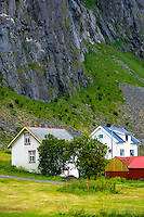 Norway, Lofoten. Eggum is located on the north side of Vestvågøya.