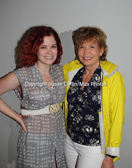 -  Seeing is Believing: Women Direct at its East Coast Premiere at Soho International Film Festival on June 19, 2017 in New York City, New York.(Photos by Sue Coflin/Max Photos) Julia Barr and daughter Alison Hirschlag