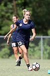 CARY, NC - JUNE 15: Abby Dahlkemper. The North Carolina Courage held a training session on June 15, 2017, at WakeMed Soccer Park Field 7 in Cary, NC.