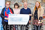 Carmel and Brenda Galvin from Black Shop, Castlecove present a cheque to Pieta House and Our Lady of the Angels in the amount of &euro;3550.00 at Pieta House, Tralee on Friday.<br /> L-r, Carmel Galvin, Tess Dalton (Pieta House), Con O&rsquo;Connor (Pieta House) and Brenda Galvin.