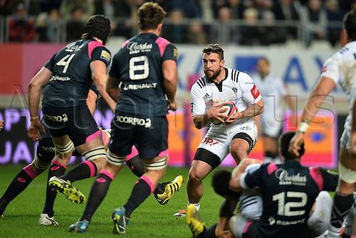 19.02.2016. Paris, France. Top 14 rugby union. Stade Francais versus Brive.  Benjamin Petre (bri)