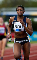 03 MAY 2010 - BEDFORD, GBR - Perri Shakes Drayton (Brunel University) - Womens 4x400m final - BUCS Outdoor Athletics Championships (PHOTO (C) NIGEL FARROW)