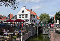 Nederland  Amsterdam  Nieuwendam 2019.  Cafe 't Sluisje. In 2017 hebben buurtbewoners het voor elkaar gekregen om gezamenlijk café 't Sluisje op de Nieuwendammerdijk in Noord te kopen  Foto Berlinda van Dam / Hollandse Hoogte