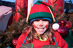 Catch the Glow Holiday Celebration, parade day, Estes Park, Colorado, USA